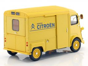 Citroen HY Citroen Service year 1962 yellow / blue