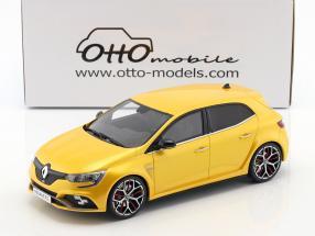 Renault Megane R.S. Trophy Baujahr 2017 serius gelb 1:18 OttOmobile