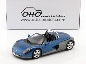 Renault Spider year 1998 sports blue metallic 1:18 OttOmobile