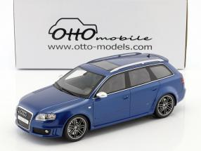 Audi RS4 B7 year 2005 sepang blue metallic 1:18 OttOmobile