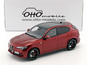Alfa Romeo Stelvio Quadrifoglio year 2017 red metallic 1:18 OttOmobile