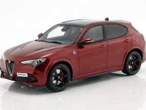 Alfa Romeo Stelvio Quadrifoglio Baujahr 2017 rot metallic 1:18 OttOmobile