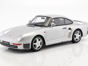 Porsche 959 Baujahr 1986 silber 1:12 GT-Spirit