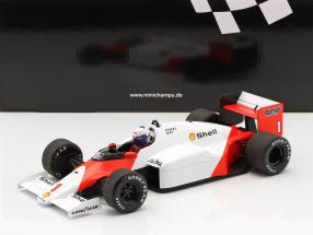 Alain Prost McLaren MP4/2C #1 World Champion Formel 1 1986 1:18 Minichamps
