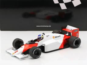 Keke Rosberg McLaren MP4/2C #2 formula 1 1986 1:18 Minichamps