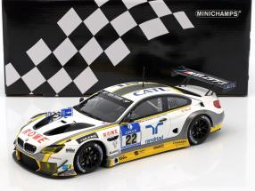 BMW M6 GT3 ROWE Racing #22 24h Nürburgring 2016 Graf, Westbrook, Catsburg, Palttala 1:18 Minichamps