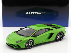 Lamborghini Aventador S Baujahr 2017 mantis grün 1:18 AUTOart
