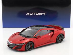 Honda NSX (NC1) Baujahr 2016 rot metallic 1:18 AUTOart
