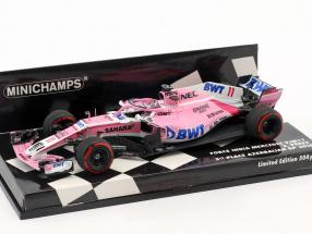 Sergio Perez Force India VJM11 #11 3rd Azerbaijan GP formula 1 2018 1:43 Minichamps