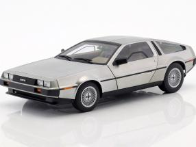 DeLorean DMC-12 year 1981 matt silver 1:18 AUTOart