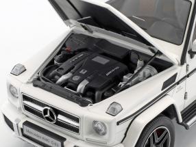 Mercedes-Benz AMG G63 Baujahr 2017 weiß glänzend