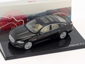 Jaguar XJ (X351) Baujahr 2009 amethyst schwarz 1:43 Ixo
