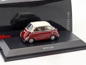 BMW 600 rot / weiß 1:43 Schuco