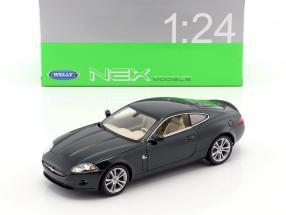 Jaguar XK Coupe Baujahr 2005 dunkelgrün 1:24 Welly