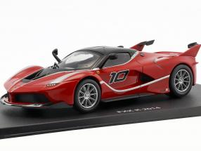 Ferrari FXX K #10 year 2014 red / black 1:43 Altaya