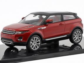 Land Rover Range Rover Evoque year 2011 firenze red 1:43 Ixo