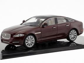 Jaguar XJ (X351) Baujahr 2009 kaviar / rotbraun 1:43 Ixo