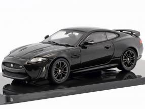 Jaguar XKR-S Baujahr 2011 ultimate schwarz 1:43 Ixo