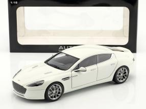 Aston Martin Rapide S Year 2015 stratos White 1:18 AUTOart