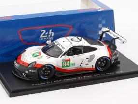 Porsche 911 (991) RSR GTE #94 24h LeMans 2018 Dumas, Bernhard, Müller 1:43 Spark
