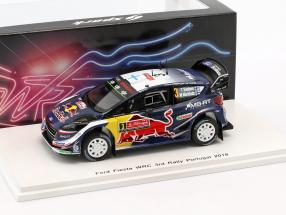 Ford Fiesta WRC #3 3rd Rallye Portugal 2018 Suninen, Markkula 1:43 Spark
