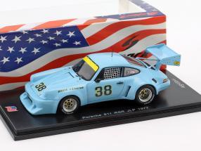 Porsche 911 RSR #38 6th 100 Miles Mid-Ohio 1977 John Paul 1:43 Spark