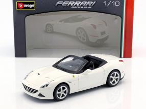 Ferrari California T Open Top Baujahr 2014 weiß 1:18 Bburago