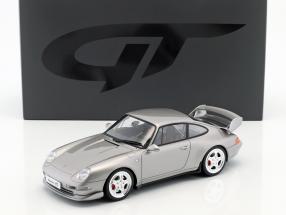 Porsche 911 (993) RS Clubsport year 1995 arctic silver 1:18 GT-Spirit