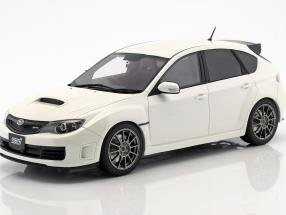 Subaru Impreza STI R205 Baujahr 2010 perlweiß1:18 OttOmobile