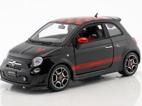 Fiat Abarth 500 schwarz / rot 1:18 Bburago