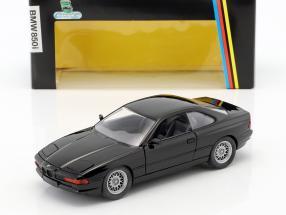 BMW 850i E31 Baujahr 1989 - 1992 schwarz 1:24 Schabak