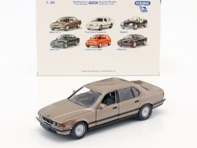 BMW 750li E32 Baujahr 1986 - 1994 bronze metallic 1:24 Schabak