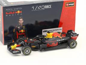 Max Verstappen Red Bull Racing RB14 #33 formula 1 2018 in Blister 1:43 Bburago