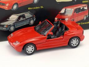 BMW Z1 E30 (Z) Roadster Baujahr 1989 rot 1:43 Schabak