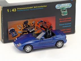 BMW Z1 E30 (Z) Roadster Baujahr 1989 dunkelblau metallic 1:43 Schabak