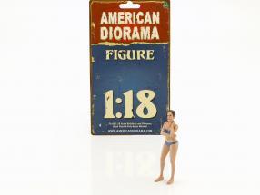 Kalender-Girl Dezember im Bikini 1:18 American Diorama