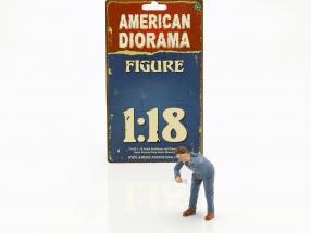 Mechaniker Frank Figur 1:18 American Diorama