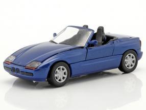 BMW Z1 E30 (Z) Roadster year 1989 dark blue metallic 1:43 Schabak