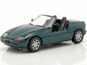 BMW Z1 E30 (Z) Roadster year 1989 dark green metallic 1:43 Schabak