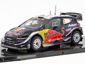 Ford Fiesta WRC #2 2nd rally Portugal 2018 Evans, Barritt 1:43 Ixo