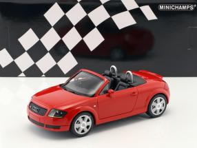 Audi TT (8N) Roadster year 1999 red 1:18 Minichamps