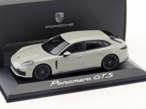 Porsche Panamera Sport Turismo GTS year 2017 chalk gray 1:43 Minichamps