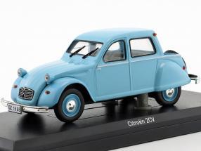 Citroën 2CV Citroneta year 1963 light blue 1:43 Norev