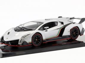 Lamborghini Veneno Baujahr 2013 silber metallic 1:43 Ixo