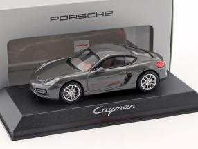 Porsche Cayman grey metallic 1:43 Norev