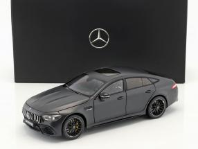 Mercedes-Benz AMG GT 63 S 4MATIC+ (X290) Baujahr 2018 designo graphitgrau magno 1:18 Norev