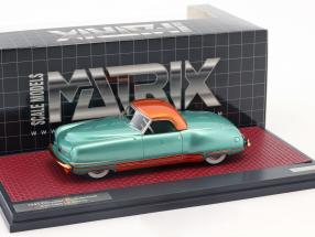 Chrysler Thunderbolt Concept Le Baron Closed Top Baujahr 1941 grün metallic 1:43 Matrix