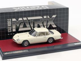 Maserati Mexico Speciale Frua Baujahr 1967 weiß 1:43 Matrix