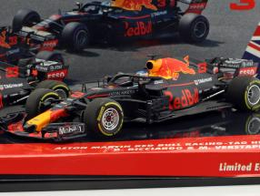 Ricciardo #3 & Verstappen #33 2-Car Set Red Bull Racing RB14 formula 1 2018 1:43 Minichamps