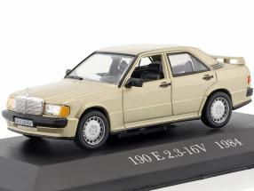 Mercedes-Benz 190 E 2.3-16V (W201) Baujahr 1984 gold metallic 1:43 Altaya